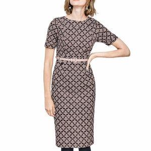 Boden Talia Textured Dress